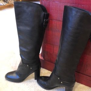 SIGERSON MORRISON BELLE LEATHER TALL BOOTS